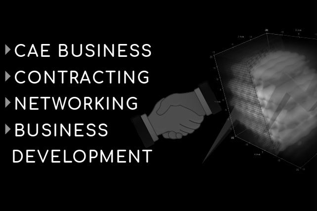 several business titles | shaking hands | black and white picture