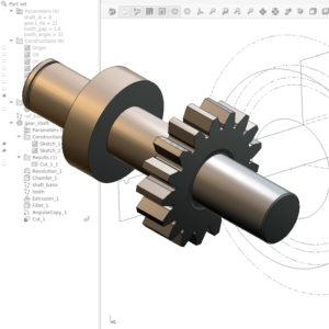 Iso-view | Parametric 3D model designed in Salome software