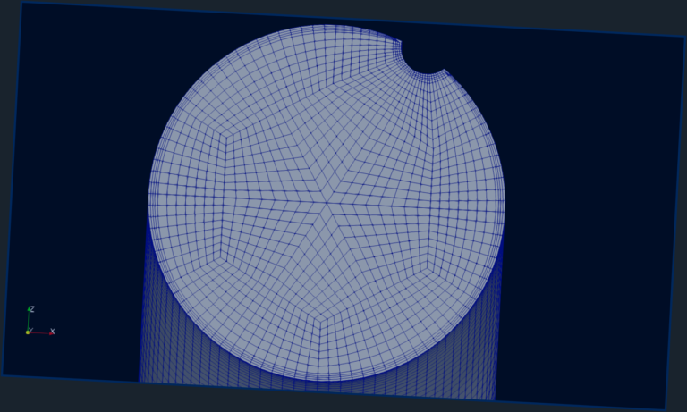 Added boundary layer with OpenFoam command refineWallLayer